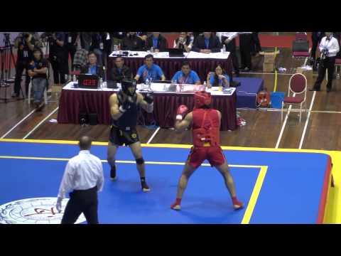 12th World Wushu Championships Kuala Lumpur - Sanda Finals Part 3