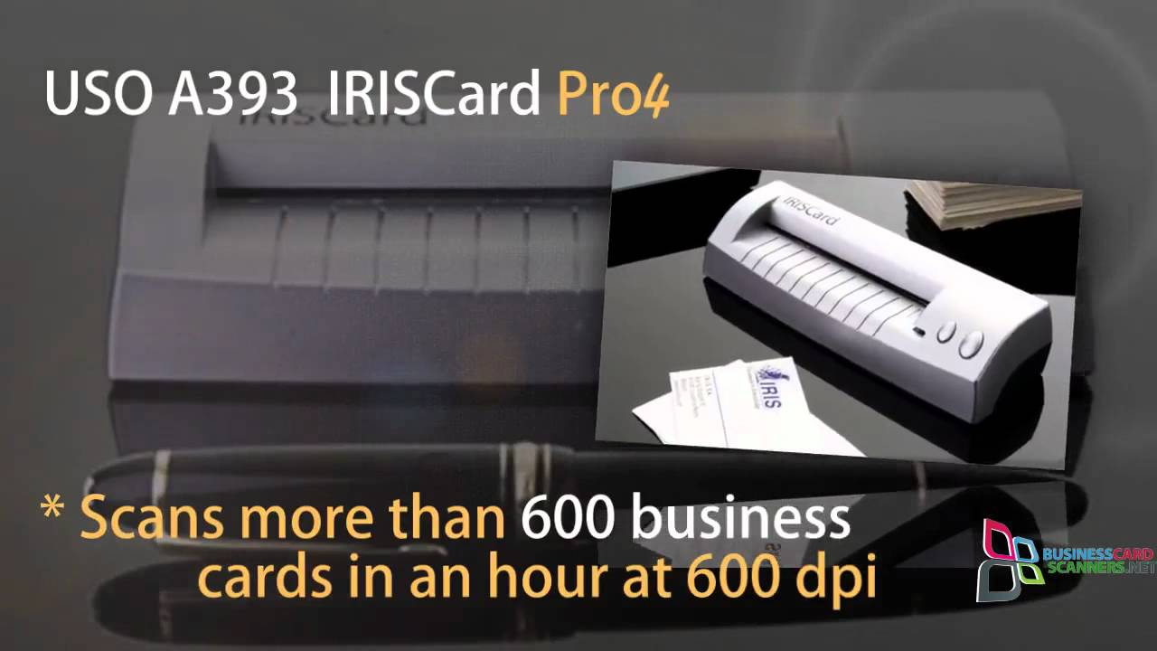 The iris usoa393 iriscard pro 4 business card scanner general the iris usoa393 iriscard pro 4 business card scanner general reviews reheart Images