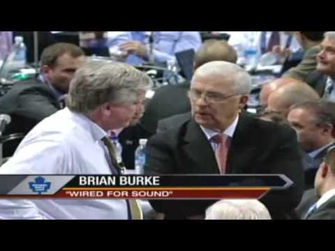 Brian Burke & Bryan Murray - NHL Draft 2009