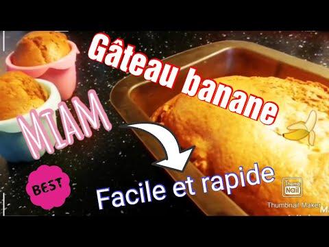 gâteau-yaourt-à-la-banane