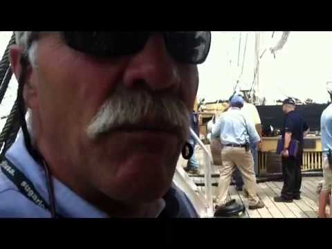 Whaling ship arrives at Mass Maritime