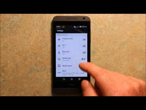How To Setup The APN Settings On HTC Smartphones