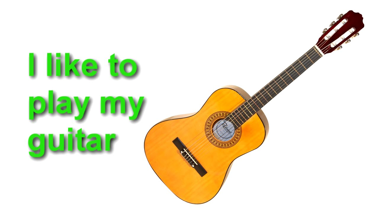 English Words - Musical Instruments and Sounds -  Speak English, Learn English,