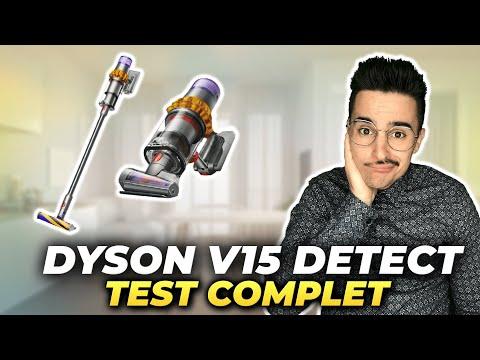 DYSON V15 DETECT ABSOLUTE : Test complet du MEILLEUR aspirateur balai de tout les temps 🧹⚡ 699€