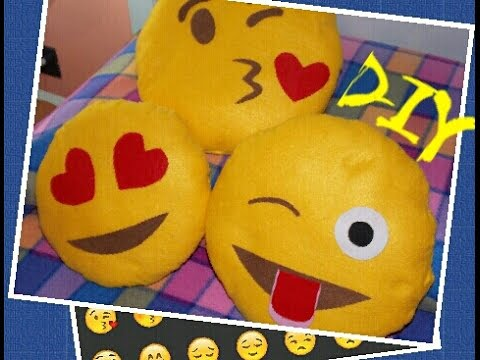 Emoji Cuscini.Cuscini Emoticon Whatsapp Fai Da Te Youtube