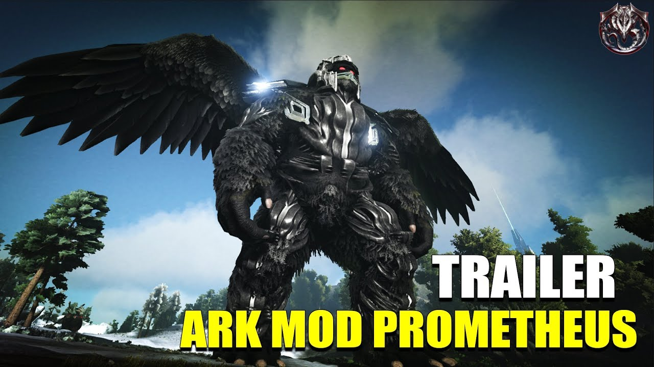 TRAILER ARK THE VOLCANO PROMETHEUS MOD Fr