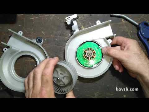 Toyota Prius: почему вышел из строя вентилятор охлаждения высоковольтной батареи (ВВБ)