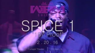 "Spice 1 ""East Bay Gangsta"" LIVE Feb 20th 2016 
