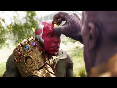 Мстители Против Таноса. Смерть Вижена | Мстители: Война бесконечности