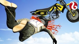 UNE MOTO DANS LA TÊTE !  (GTA 5 Funny Moments)