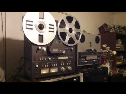 Beatles - Revolution 9 BACKWARDS on a TASCAM 32 Reel to Reel.  - ZCUCKOO