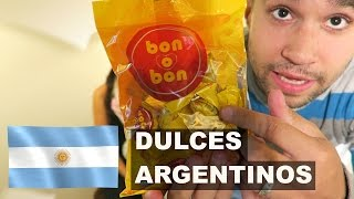 ¡Probando Dulces ARGENTINOS! | EXPCASEROS