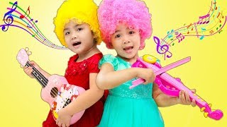 Suri & Annie Performs Kids Music Nursery Rhymes Songs for Children
