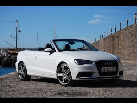 audi a3 cabriolet 2014 youtube. Black Bedroom Furniture Sets. Home Design Ideas