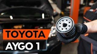 Τοποθέτησης Λάδι κινητήρα μόνοι σας οδηγίες βίντεο στο TOYOTA AYGO