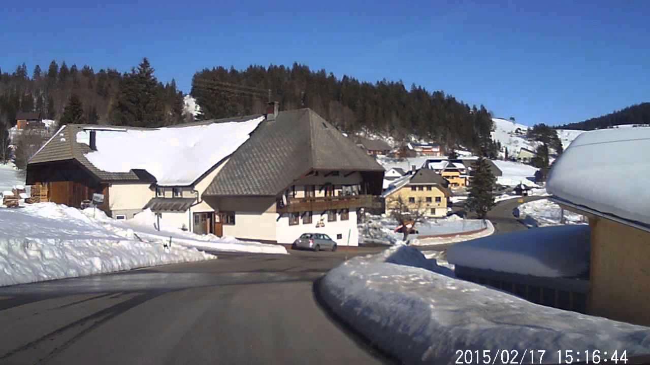 Download Autofahrt durch das schöne Ibach im Hotzenwald / Schwarzwald
