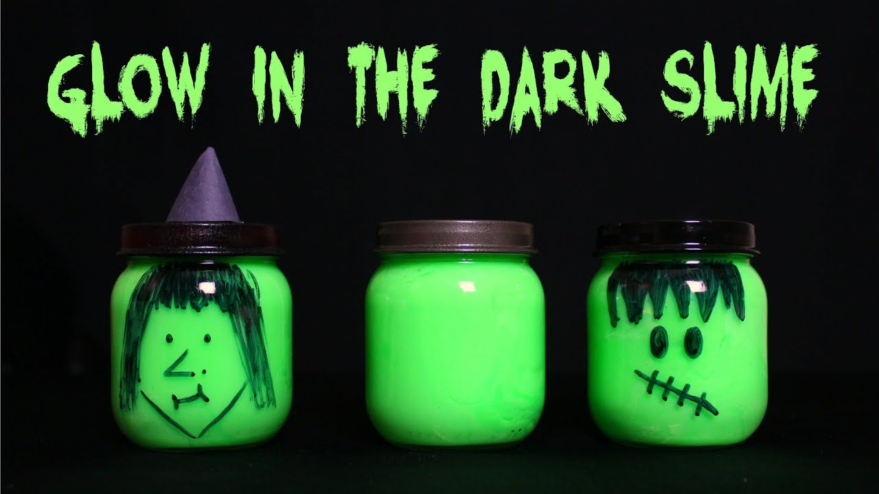 How to make glow in the dark slime youtube ccuart Gallery