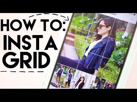 Instagram How To : Instagrid
