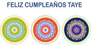 Taye   Indian Designs - Happy Birthday