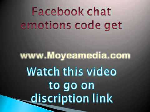 New Facebook Chat Emotions