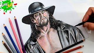 Speed Draw UNDERTAKER│How to draw Undertaker │ WWE