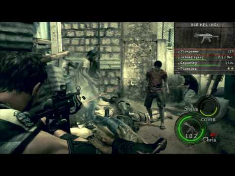 Resident Evil 5 Weapons Demo - Part I by PsychoGraphicMedia