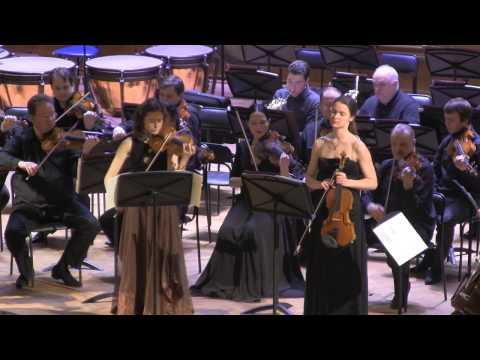 Mozart. Sinfonia Concertante, part I. Osipova, Telmanova
