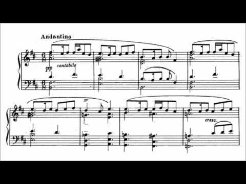 Arno Babadjanian - Impromptu (audio + sheet music)