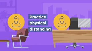 Physical distancing - COVID-19 work health and safety for small business