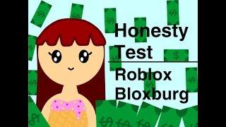The Honesty Test (Failed) | Roblox Bloxburg