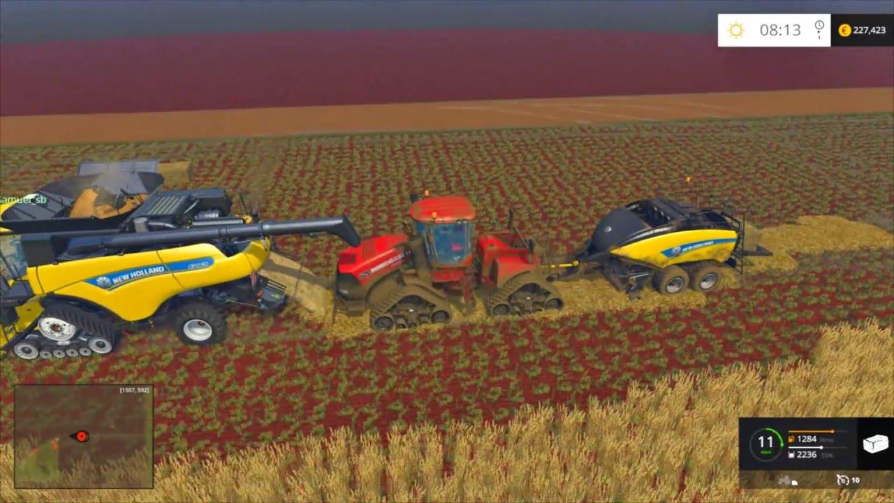 Скачать онлайн бесплатно фермер симулятор 2017