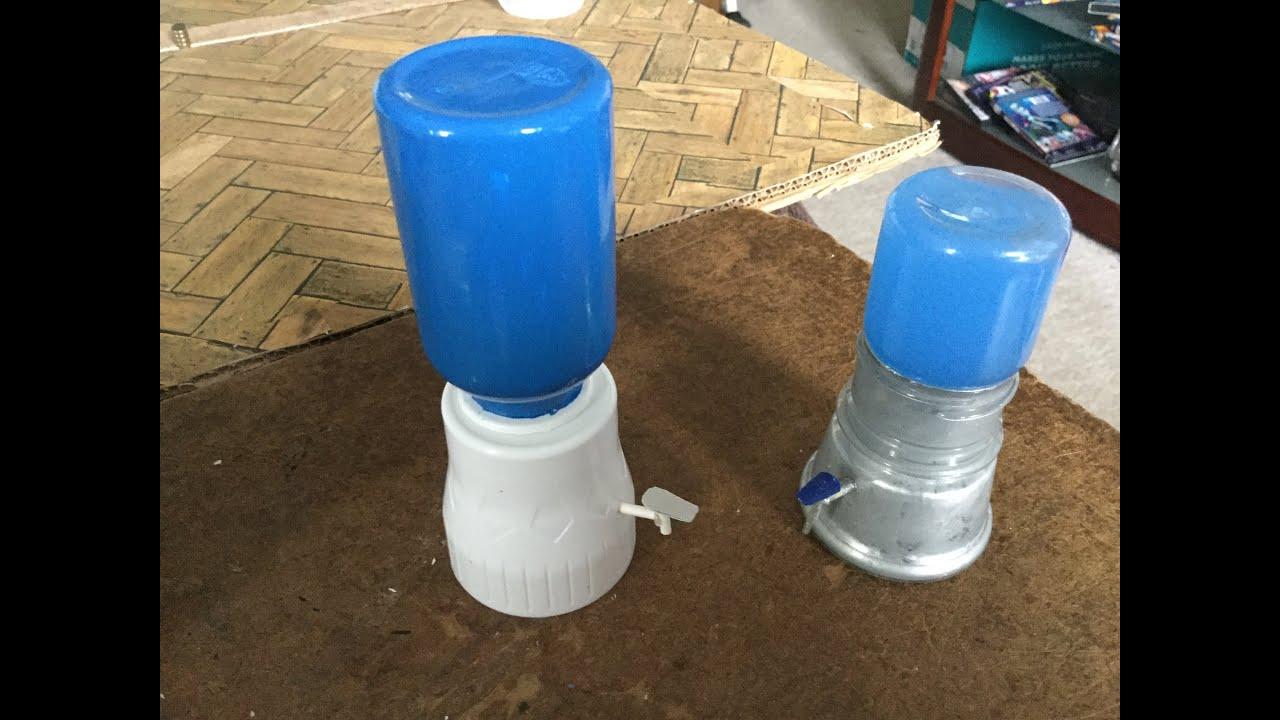 Como hacer un dispensador de agua para casa de mu ecas for Accesorios para estanques de agua