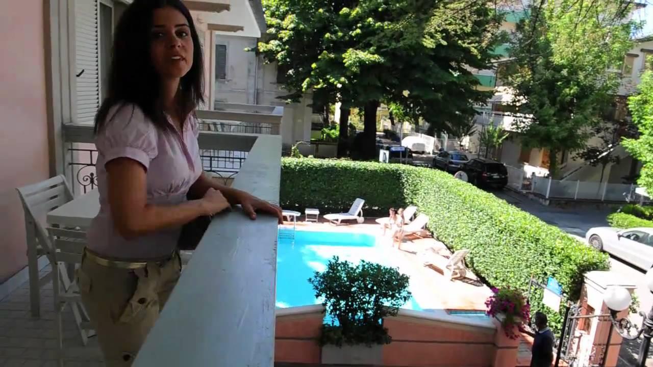 relax case vacanze - residenza villa lidia riccione - youtube