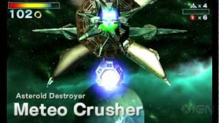 Star Fox 64 3D: Meteo Crusher Boss Fight