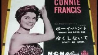 コニー・フランシス ボーイ・ハント Where The Boys Are 1961 japanese