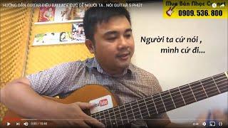 [Ballade] Người Ta Nói - Hướng Dẫn Guitar