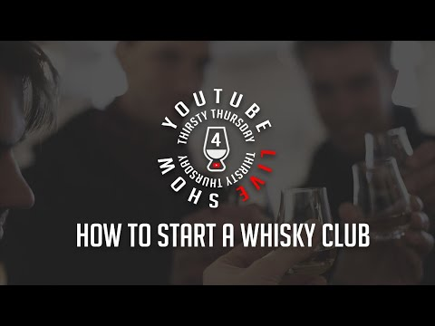How To Start A Whisky Club