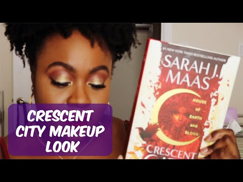 Makeup Book Chat  Crescent City By Sarah J Mass [CC]