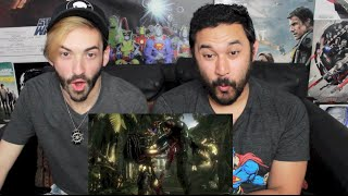 PREDATOR TRAILER - Mortal Kombat X DLC (Russian Ver) REACTION!!!