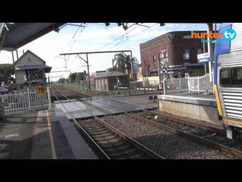 Hamilton Railway Station - Temporary Transport Interchange & SOR Tent
