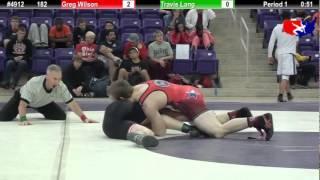 FSN Final 182: Greg Wilson (Keller Wrestling Academy) vs. Travis Lang (Kirksville Wrestling Club)