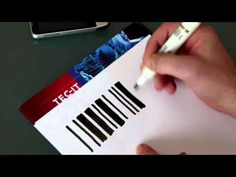 Barcode Experiment #1: Draw a Code-39 Bar Code by Hand