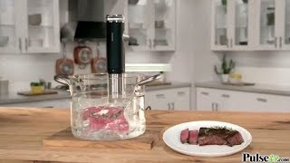 Sous Vide Power Precision Cooker Deluxe with Cooking Rack
