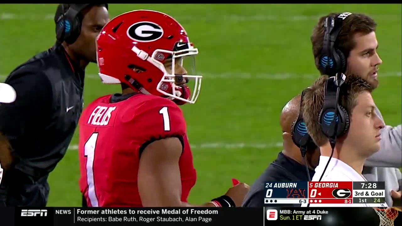 Georgia Bulldogs Football Vs. Auburn Tigers 2018 - YouTube