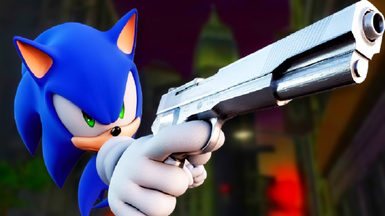Shadow The Hedgehog Sonic Mod Youtube