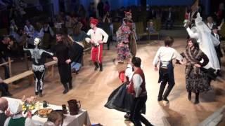 00167 XVIII Starptautiskais masku tradīciju festivāls. Rīga. Ziemeļblāzmas k/p. 25.02.17.