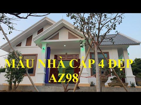 AZ98-Mẫu nhà cấp 4 mái thái, 2 sảnh giá rẻ, đẹp nhất năm 2021. Chia sẻ để mọi người cùng tham khảo!