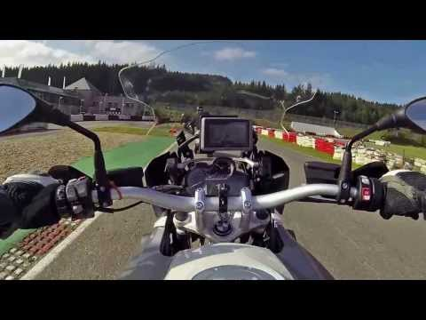 BMW R1200GS lc vs KTM Adventure 1190 R -  karting Francorchamps