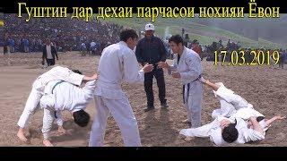 Гуштин дар дехаи парчасои нохияи Ёвон 17.03.2019