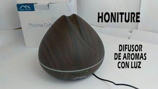 HONITURE Difusor de aromas con luces y apagado programable
